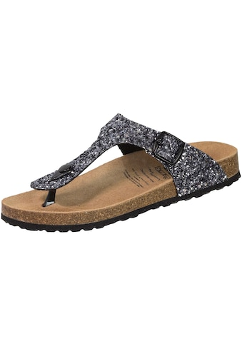 Sandale »560134«, Lico Bioline Zehenpantolette grau Glisto kaufen