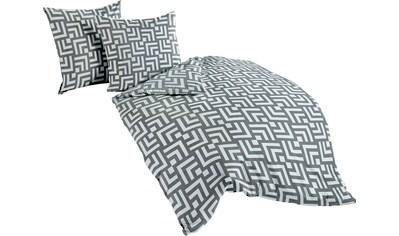 Bettwäsche »Grey structure«, BIERBAUM kaufen
