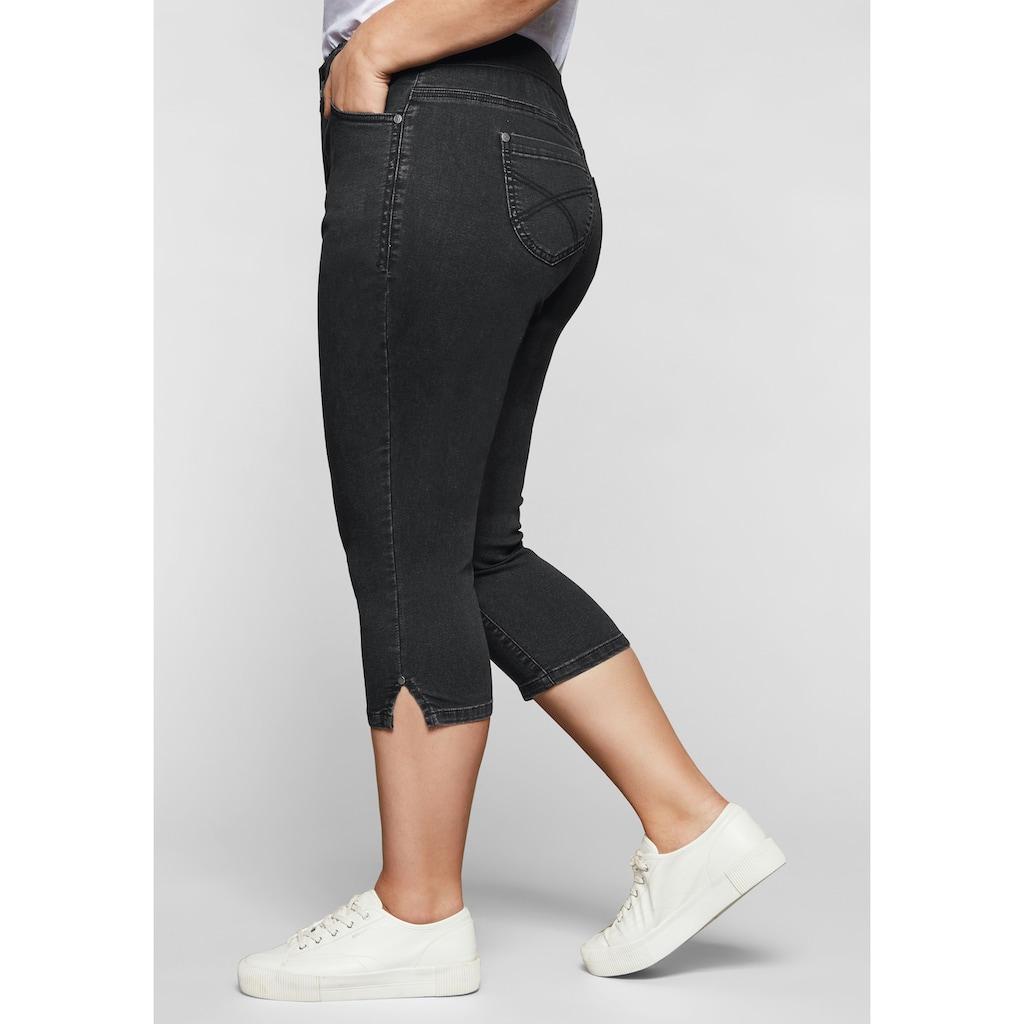 Sheego Stretch-Jeans, mit »Ultimate Stretch«, wächst bis 3 Gr. mit