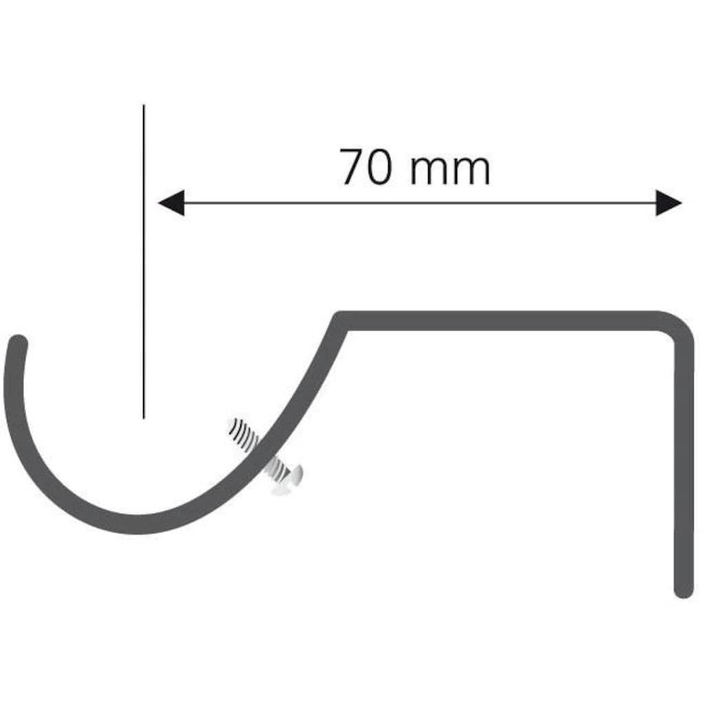 Liedeco Träger, für Gardinenstangen Ø 16 mm