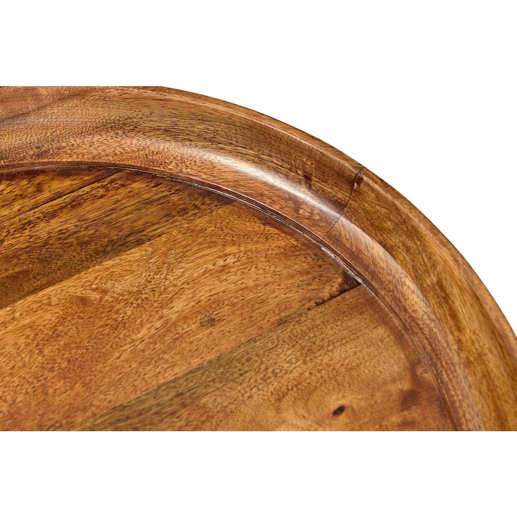 SIT Beistelltisch »This&That«, mit Tablett aus Mangoholz in drei Farben
