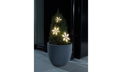 KONSTSMIDE LED-Lichtervorhang, 15 St.-flammig, LED Lichtervorhang, 3 Acryl... kaufen