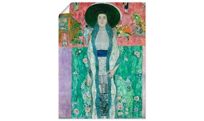 Artland Wandbild »Bildnis Adele Bloch-Bauer II«, Frau, (1 St.), in vielen Größen &... kaufen