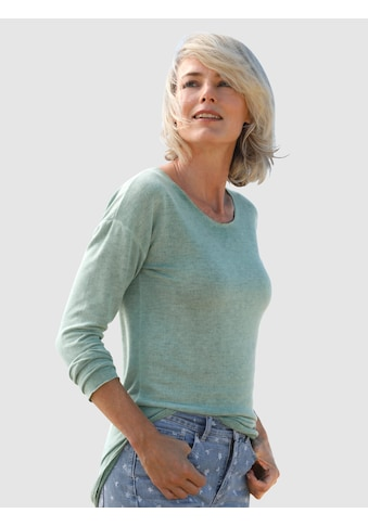Dress In Langarmshirt, mit außergewöhnlicher Waschung kaufen