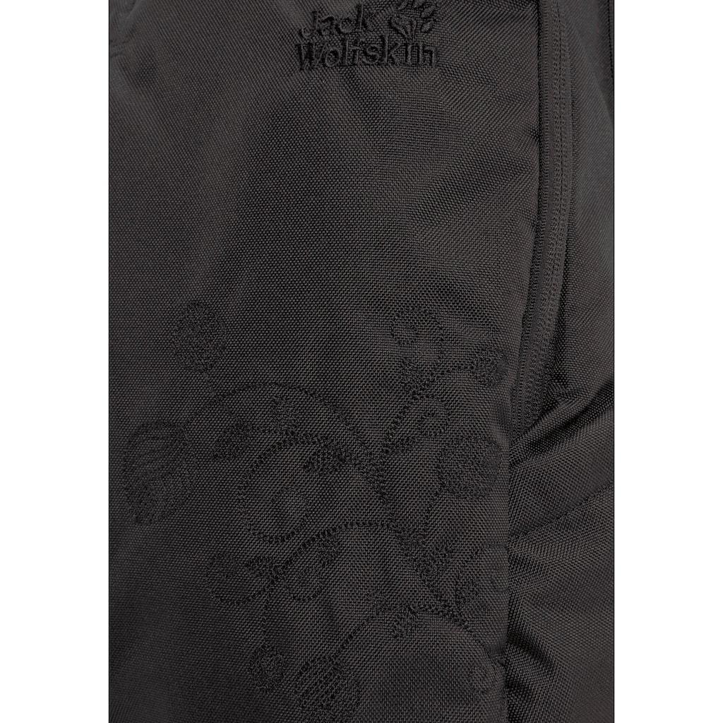 Jack Wolfskin Daypack »ANCONA«, dezente florale Stickerei