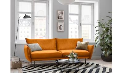 andas 3-Sitzer »Stine«, Besonderes Design durch Kissenoptik und Keder, Design by Morten Georgsen kaufen