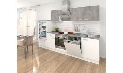 Küchenzeile, mit E - Geräten, Breite 280 cm kaufen