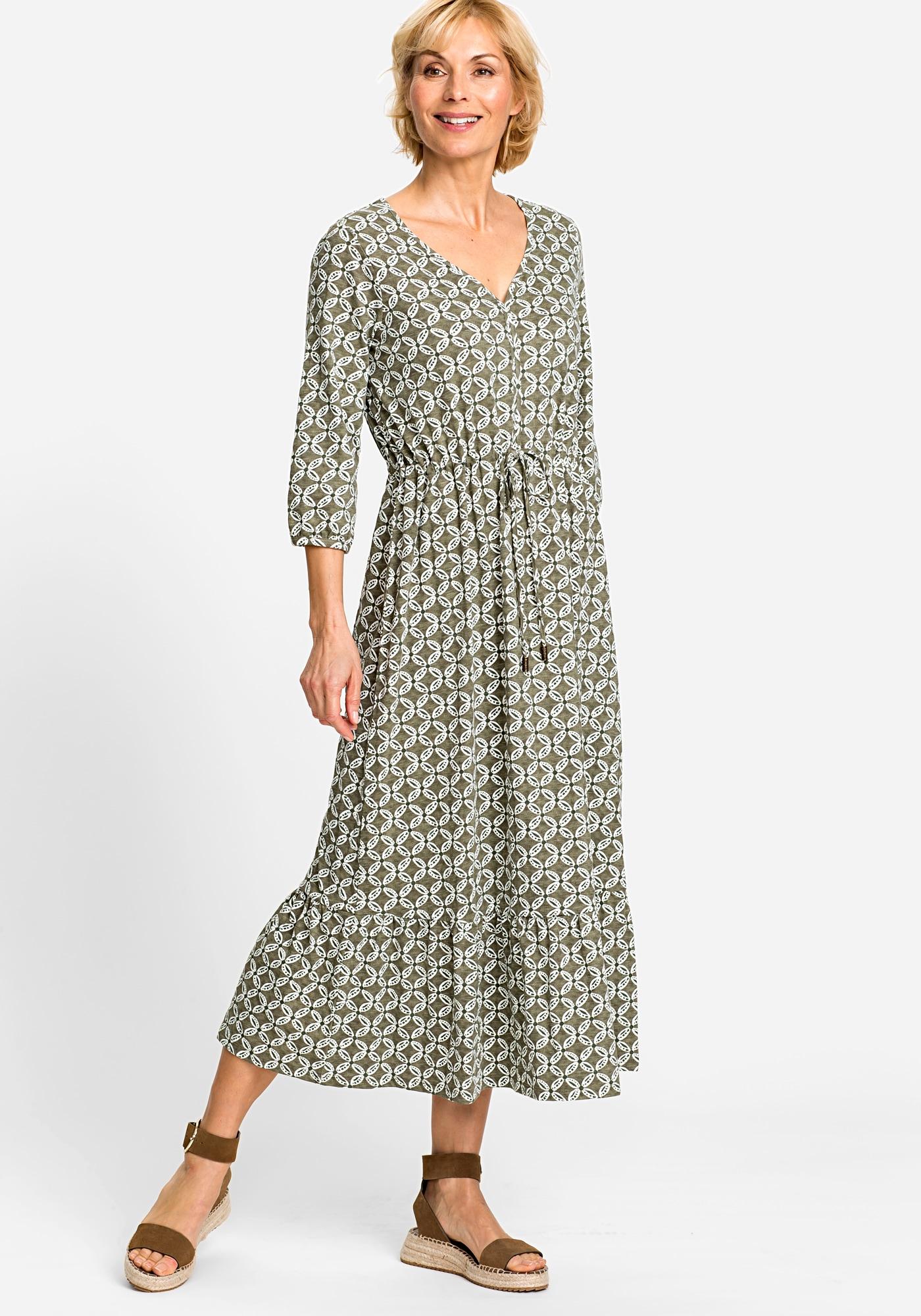 olsen -  Sommerkleid, mit grafischem Print