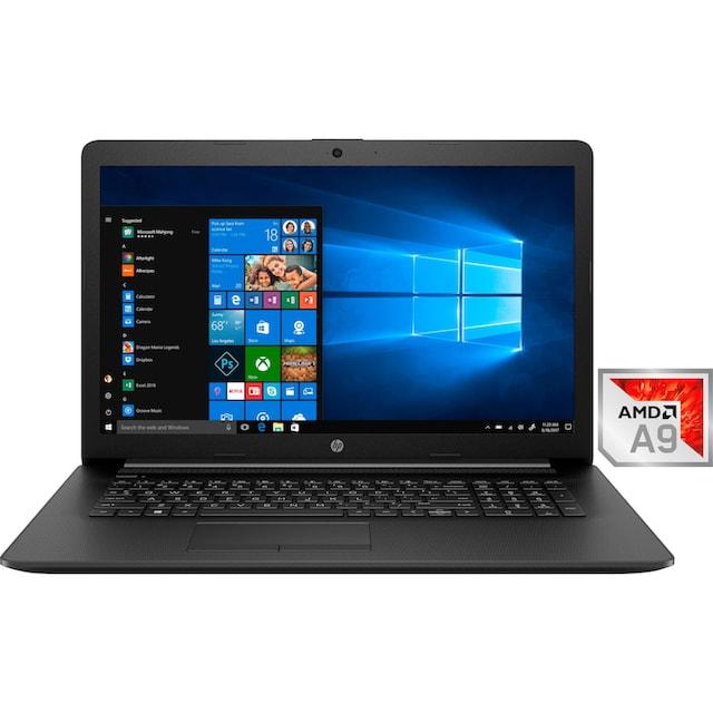 HP 17-ca0030ng Notebook (43,9 cm / 17,3 Zoll, AMD,A9, 1000 GB HDD)