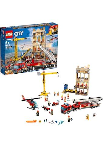 """LEGO® Konstruktionsspielsteine """"Feuerwehr in der Stadt (60216), LEGO® City"""", Kunststoff, (943 - tlg.) kaufen"""