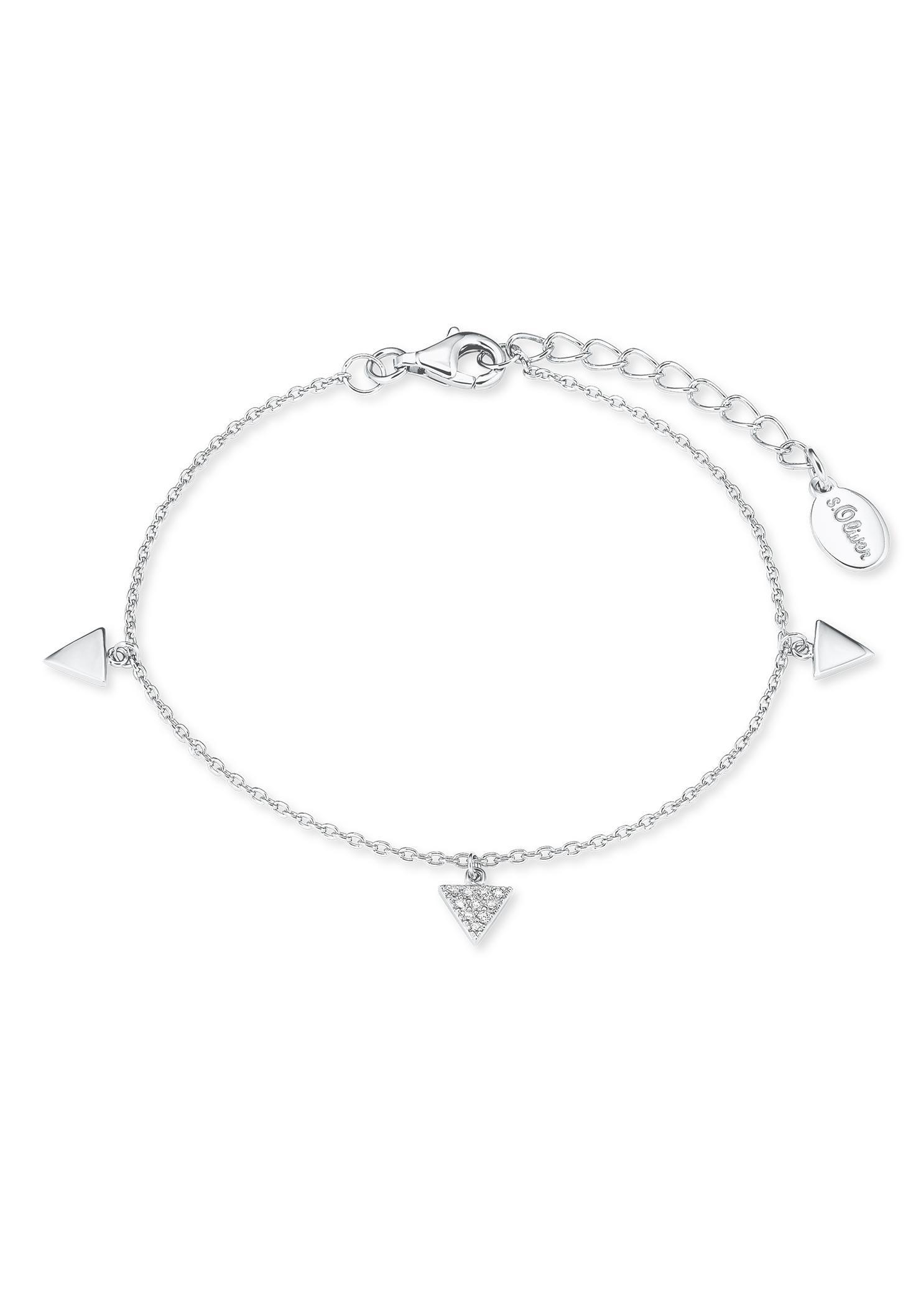 sOliver Silberarmband Dreiecke 2021827 | Schmuck > Armbänder | S.Oliver