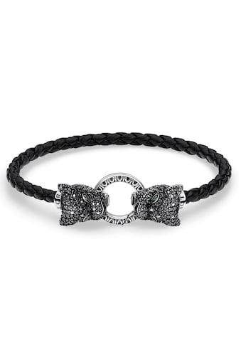 THOMAS SABO Armband »Black Cat, A1933 - 474 - 11 - L17, L19« kaufen