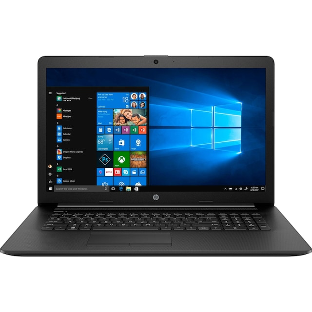 HP 17-ca1205ng Notebook (43,9 cm / 17,3 Zoll, AMD,Ryzen 5, 1000 GB HDD, 256 GB SSD)