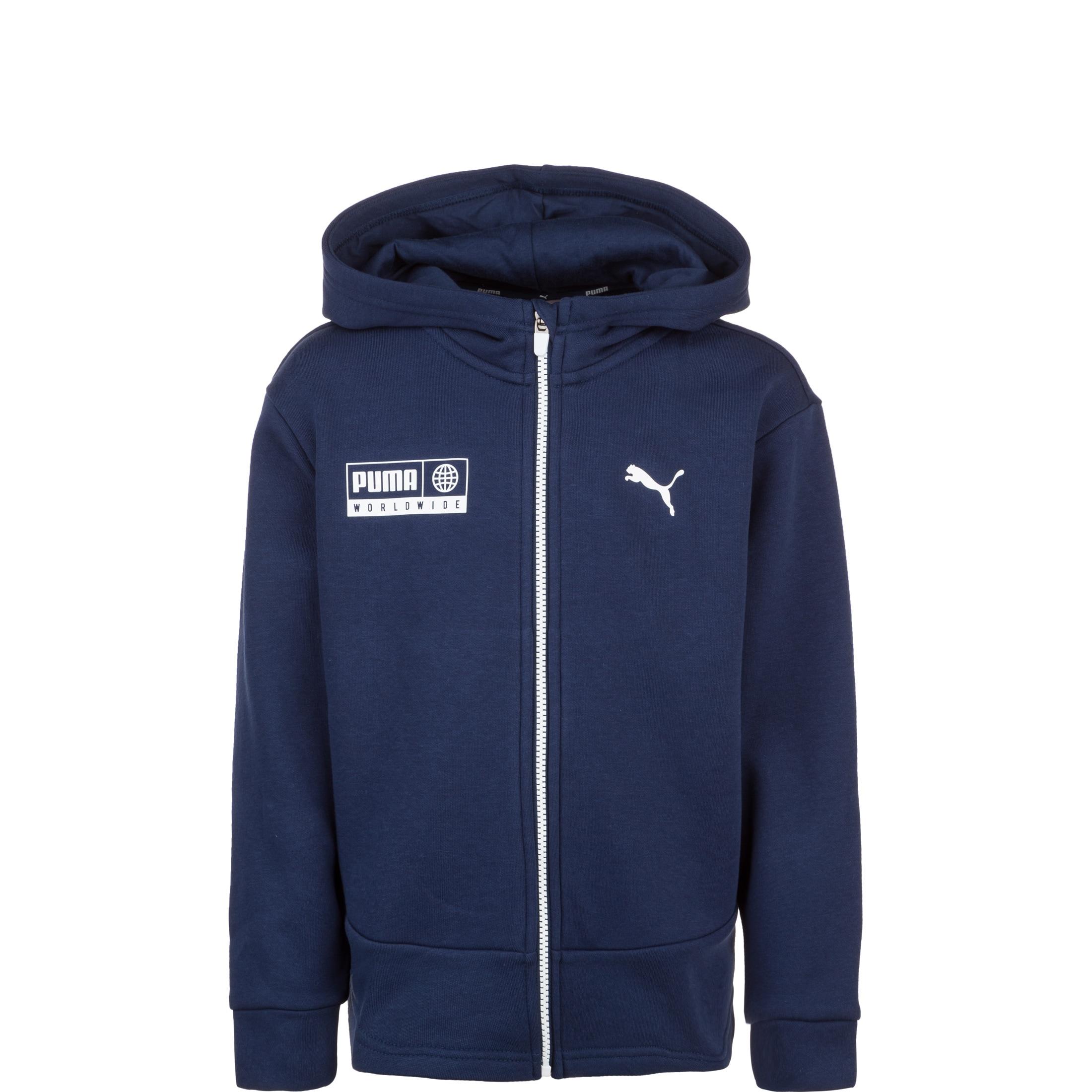 PUMA Trainingsjacke Alpha Graphic | Sportbekleidung > Sportjacken > Trainingsjacken | Blau | Puma