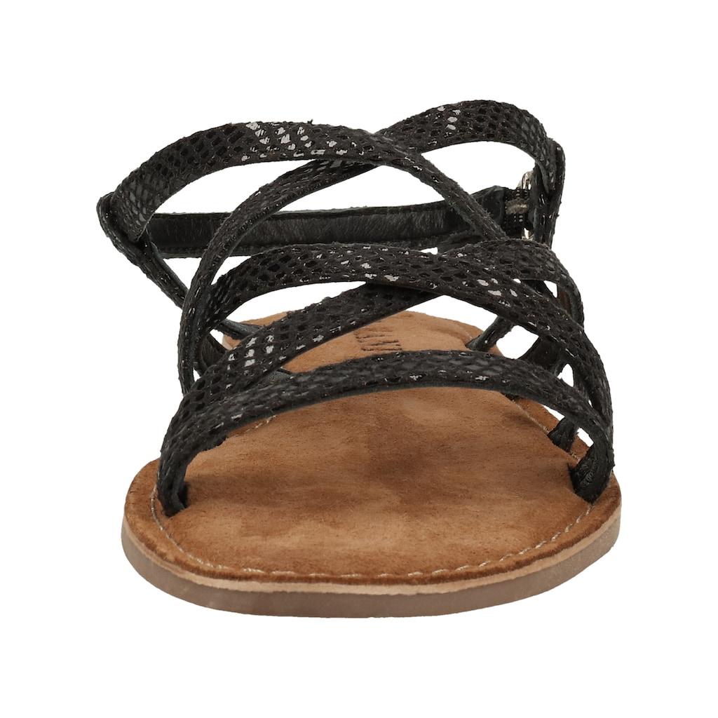 Lazamani Sandale »Leder«