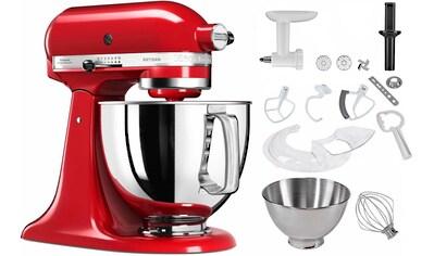 KitchenAid Küchenmaschine »5KSM125PSEER Artisan empirerot«, inkl. Sonderzubehör im Wert von ca. 245,-€ UVP kaufen