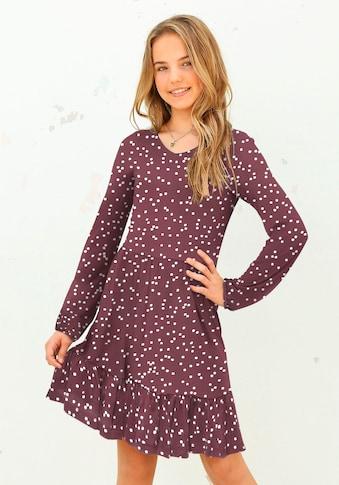 KIDSWORLD Jerseykleid, mit Tupfen kaufen