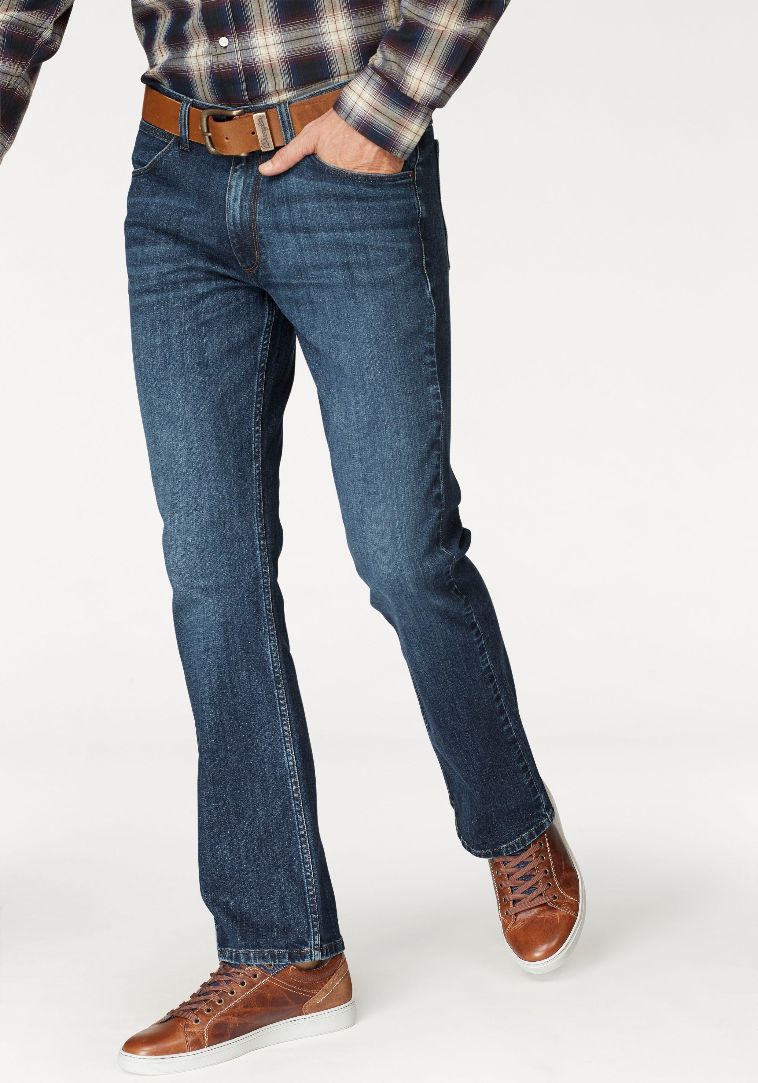 Wrangler Bootcut-Jeans »Jacksville« | Bekleidung > Jeans > Bootcut Jeans | Blau | Wrangler