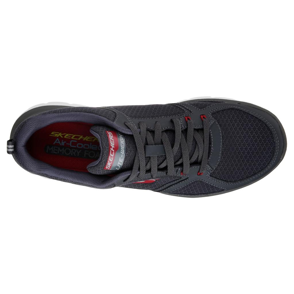 Skechers Sneaker »Flex-Advantage 2.0 - Lindman«, mit gepolstertem Schaftrand