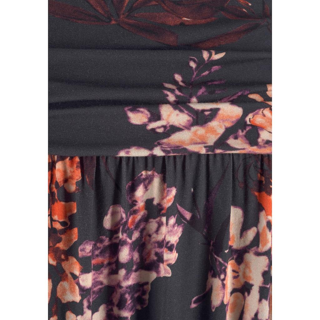 LASCANA Maxikleid, mit Floralprint