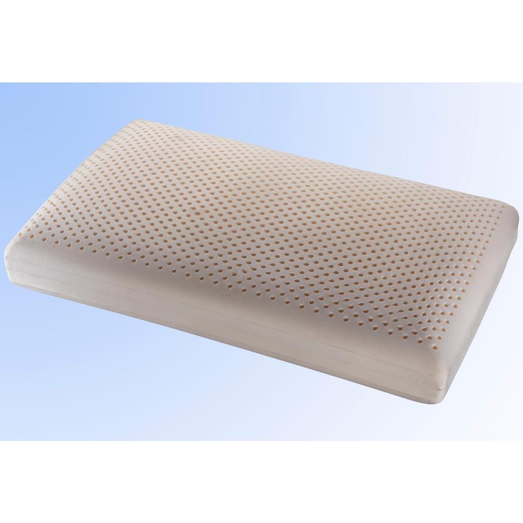 Centa-Star Nackenstützkissen »Nackenstützkissen Comfort Supersoft«, Bezug: Baumwolle, (1 St.), weicher Liegekomfort & optimale Stützkraft - ideal für Rücken- und Seitenschläfer