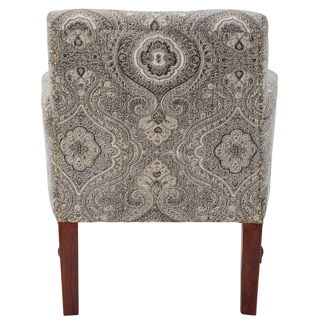 Home affaire Sessel »Jamal«, aus schönem Webstoff, in beeindruckender Farbvariation, mit schönen Stickereien, Sitzhöhe 45 cm