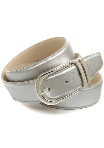 Anthoni Crown Ledergürtel, mit Fashion Dornschließe kaufen