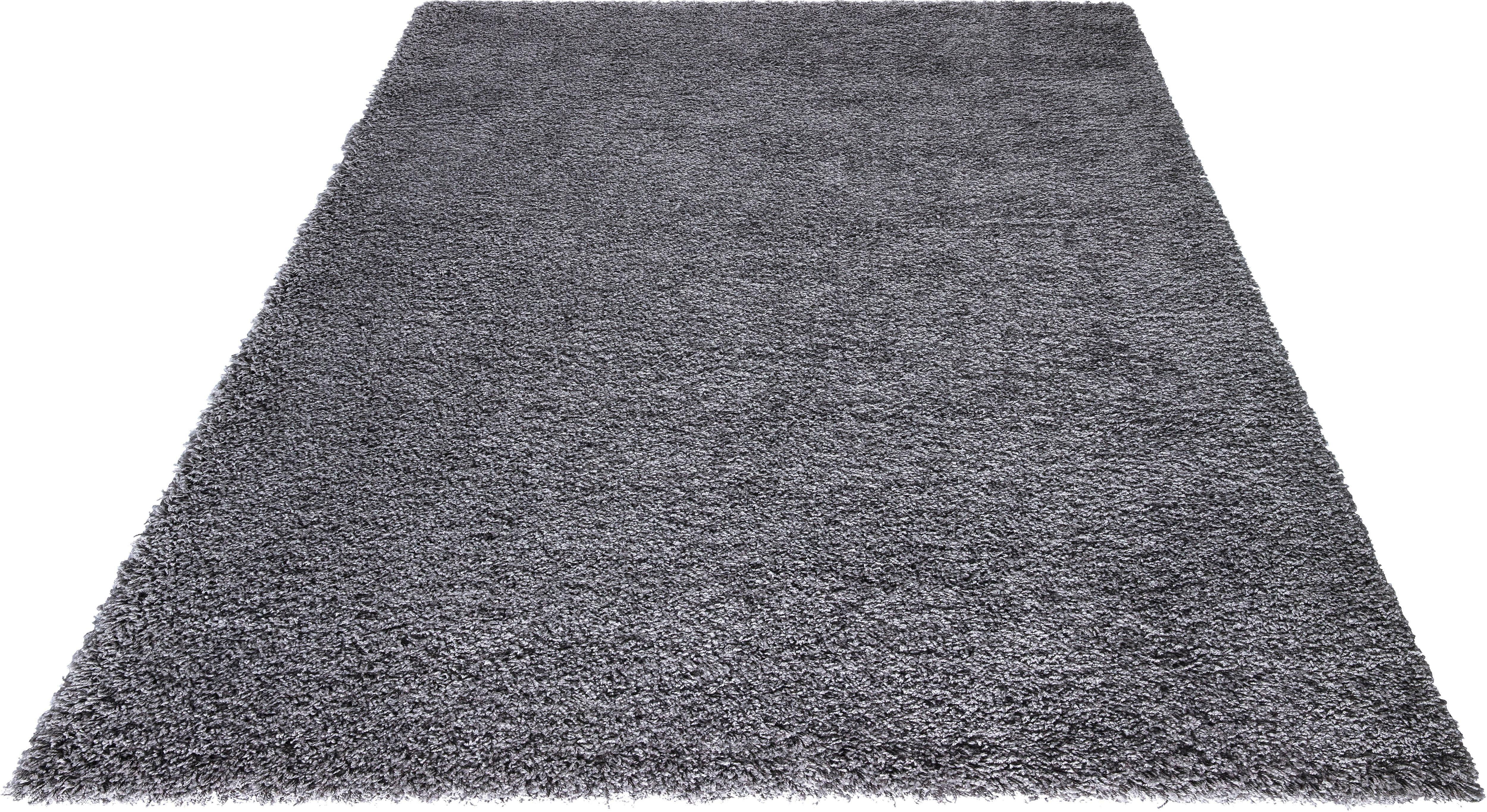 Hochflor-Teppich Neta OTTO products rechteckig Höhe 50 mm maschinell gewebt