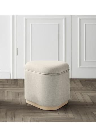 andas Pouf »Skive«, Design by Morten Georgsen kaufen