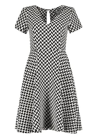 Nicowa Kleid NINIWA mit stilvollem Allover - Design kaufen