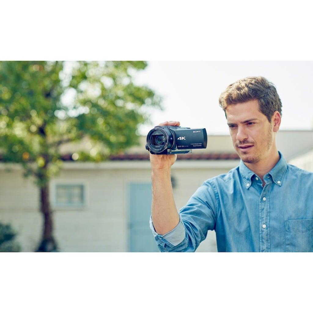 Sony Camcorder »FDRAX53.CEN«, 4K Ultra HD, NFC-WLAN (Wi-Fi), 20x opt. Zoom