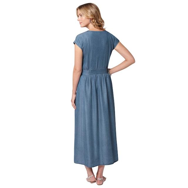 Ambria Kleid in lässiger Jeans-Optik