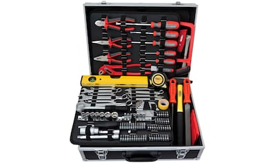 FAMEX Werkzeugkoffer »755 - 59 «, 119 - / insgesamt 162 - tlg. kaufen