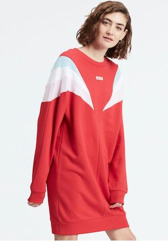 Levi's® Sweatkleid »FLORENCE CREW DRESS Baby«, in Colour- Blocking- Optik kaufen