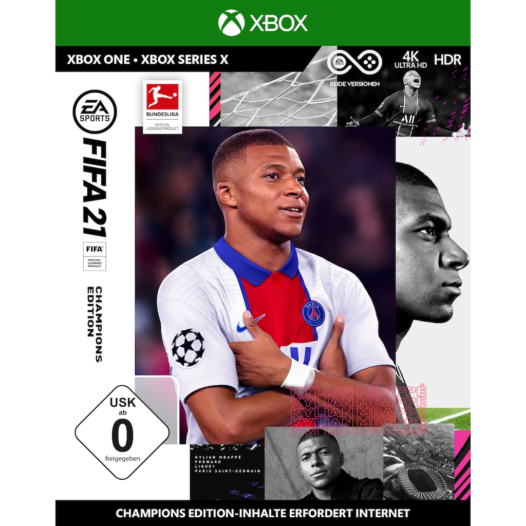 Electronic Arts Spiel »FIFA 21 Champions Edition«, Xbox One