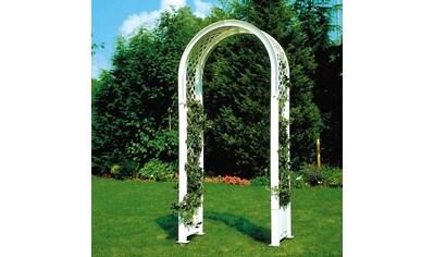 KHW Kunststoffrosenbogen BxTxH: 100x43x207 cm, mit Erdspießen kaufen