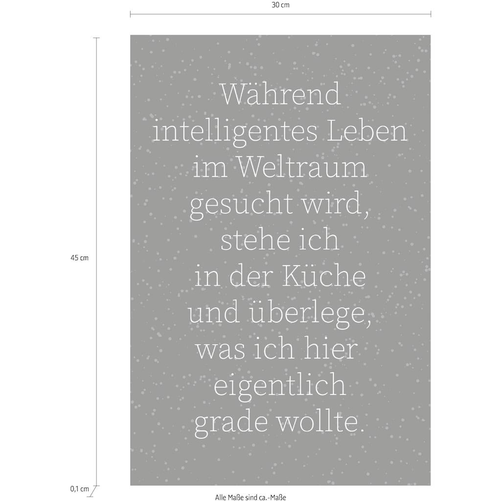 queence Wanddekoobjekt »Schriftzug«