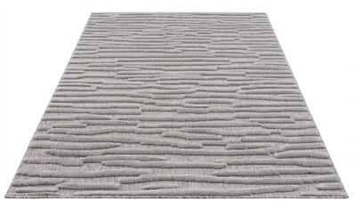 Carpet City Teppich »SANTORINI 58394«, rechteckig, 5 mm Höhe, 3D-Optik: Flor erzeugt... kaufen
