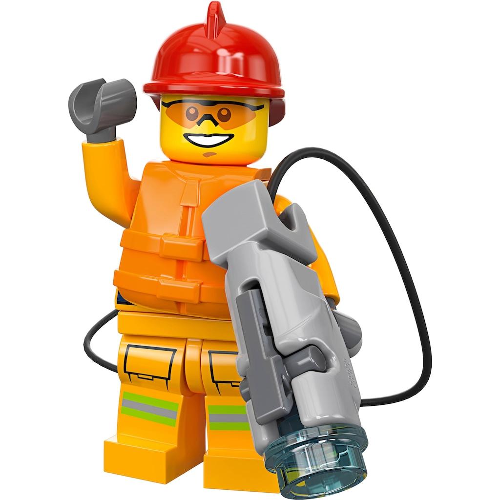 LEGO® Konstruktionsspielsteine »Feuerwehr-Station (60215), LEGO® City«, (509 St.)