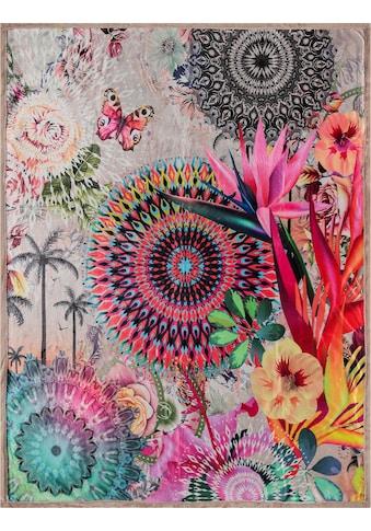 hip Plaid »Maelli«, mit Mandalas und exotischen Blüten kaufen