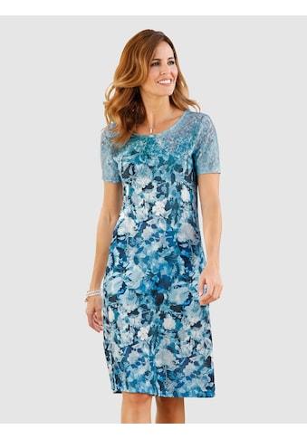 Laura Kent Jerseykleid K2 mit floralem Druck kaufen