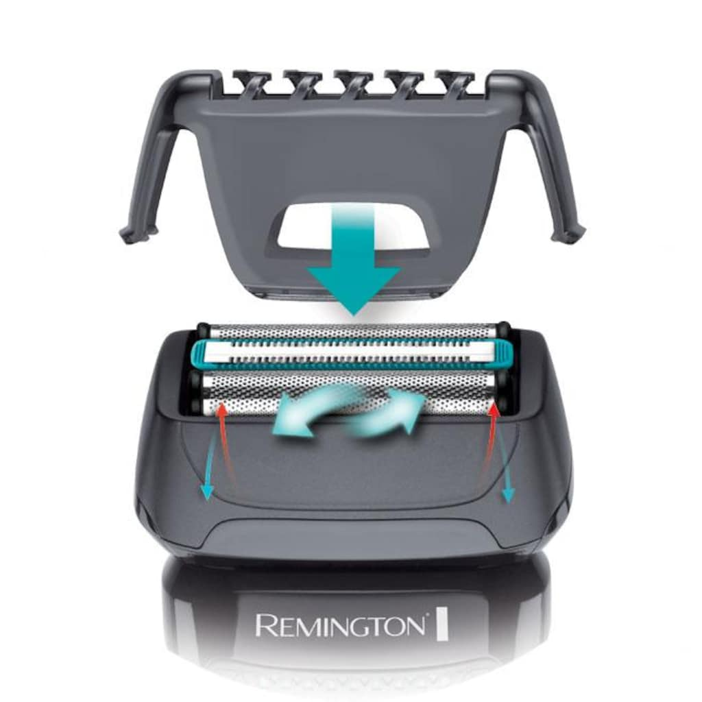 Remington Elektrorasierer »F4000 Style Folienrasierer«, Langhaartrimmer