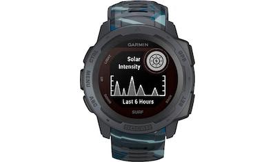 Garmin Instinct Solar – Surf Edition Smartwatch (2,3 cm / 0,9 Zoll) kaufen