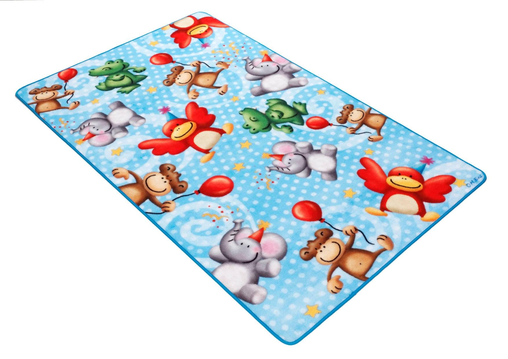 Kinderteppich Lovely Kids LK-4 Böing Carpet rechteckig Höhe 2 mm