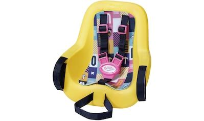 Baby Born Puppen Fahrradsitz, zur Befestigung am Kinderfahrradsitz kaufen