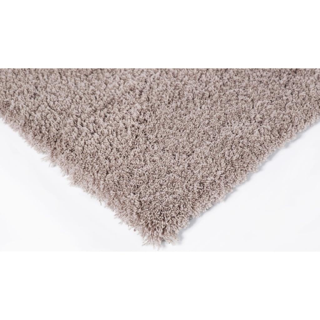 LUXOR living Hochflor-Teppich »Sydney«, rechteckig, 27 mm Höhe, besonders weich durch Microfaser, Wohnzimmer