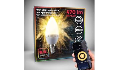 B.K.Licht LED-Leuchtmittel, E14, 1 St., Warmweiß, Smart Home LED-Lampe RGB WiFi... kaufen