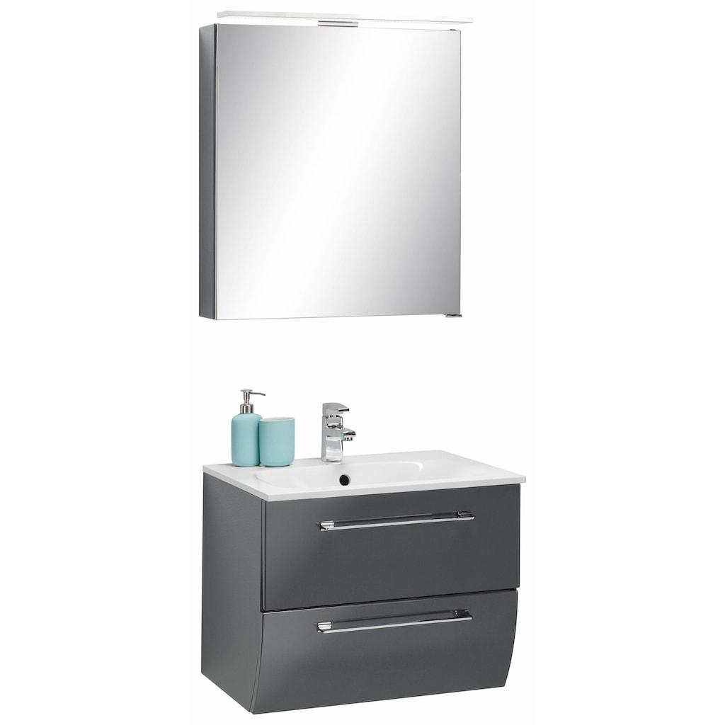 MARLIN Badmöbel-Set »Sola 3130«, (Set, 2 St.), vormontiert, für Gäste-WC geeignet