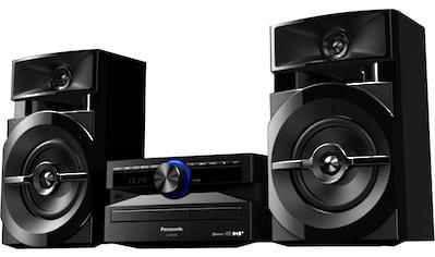 Panasonic Microanlage »SC-UX104«, (Bluetooth Digitalradio (DAB+) 300 W) kaufen