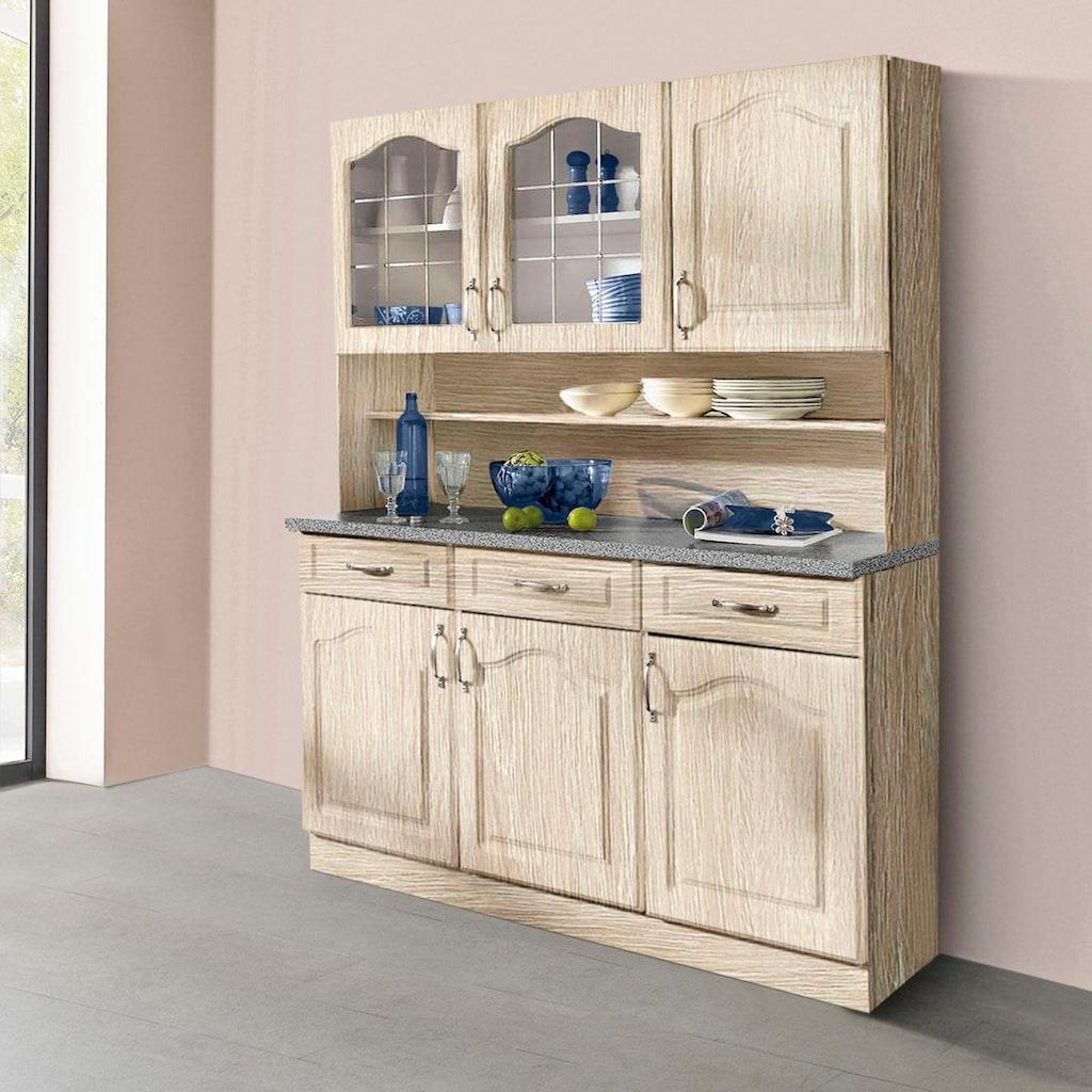 wiho Küchen Buffet »Linz«, 150 cm Breite in Landhaus-Optik